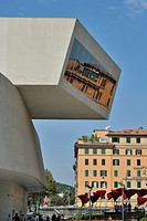 Rome  Italy  MAXXI National Museum of 21st Century Arts designed by Zaha Hadid
