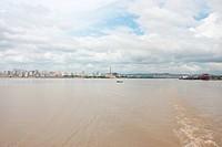 River, landscape, Brazil