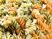 Colorful fusilli