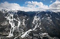 Whistler Blackcomb Ski Resort, Whistler, British Columbia, Canada.