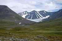 Sarek mountain, Sweden, Lapland, Sarek National Park
