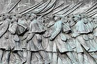 Civil War Calvary Statue