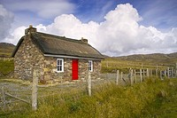 Thatched cottage on Achill Island, County Mayo, Ireland