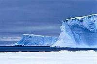 antarctica, atka bay, iceberg