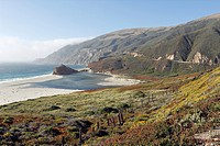 Big Sur along Higway 1 - American National Scenic Byway -, California, USA