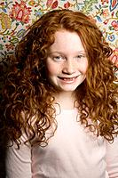 Smiling Redheaded Girl