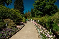 Butchart Garden in Victoria, British Columbia