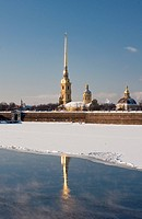 The Peter and Paul Fortress to St._Petersburg