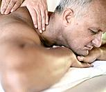Senior Man Receiving Massage