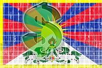 Tibet flag finance economy