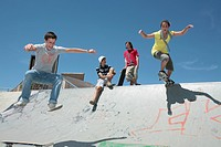 Leisure Time in the Skate Park