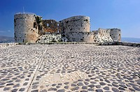Krak des Chevaliers is a Crusader castle in Syria and one of the most important preserved medieval military castles in the world  In Arabic, the fortr...