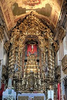 Interior of Igreja do Carmo church, Porto, Portugal