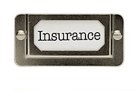 Insurance File Drawer Label