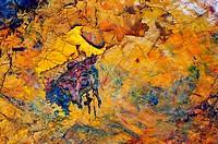dry oil paint