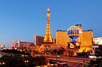 geography / travel, USA, Nevada, Paris Casino and Hotel, The Strip, Las Vegas,
