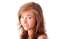 Young caucasian woman