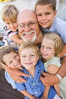 Grandpa and Grandchildren