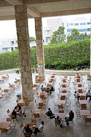 A Cafe at Getty Museum Center in California
