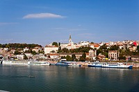 Belgrade, Capital of Serbia, view from the river Sava