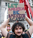 October 08, 2011, Occupy Wall Street, Downtown Manhattan, Wall Street financial area vicinity, Occupy Wall Street is an ongoing series of demonstratio...