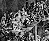 geography / travel, France, French Revolution 1789 _ 1799, Storming of the Bastille, 14.7.1789, liberating the prisoners, illustration, 19th century,