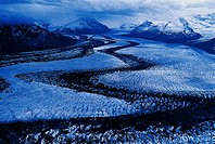 Russell Glacier in the St. Elias Mountains