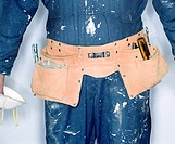 Workman Wearing Tool Belt