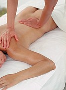 Masseuse Giving Back Massage