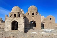 Mausoleum 11th-12th century, Fatimid cemetery, Aswan, Egypt