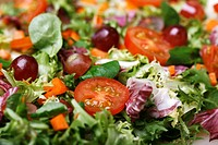 Fresh salad close_up