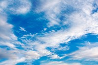 Background of Clouds and blue sky