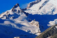 Pinnacle and Glacier on Mount Rainier