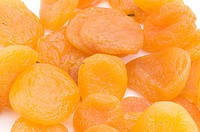 dried apricot close up