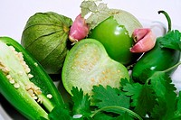Salsa Verde Ingrediants