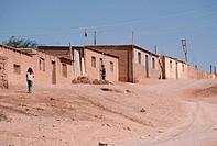 Newly Constructed Houses, San Pedro de Atacama
