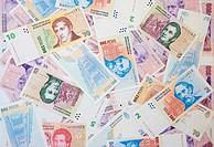 different Argentinean pesos
