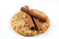 Cinnamon on cookie