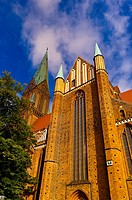 Cathedral Dom, Schwerin, Mecklenburg-West Pomerania, Germany