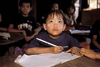 Burmese Child in Primary School