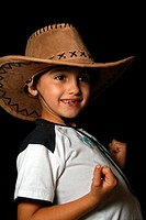 portrait of fashion child