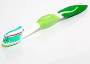 one thoothbrush