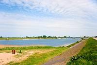 Dutch river landscape