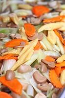 Stir fried mix vegetables