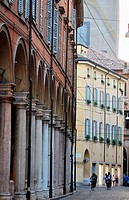 Modena (Italy): buildings in the historical center