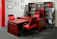 red Office of boss