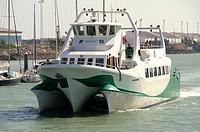 El Puerto de Santa María Cádiz  Spain  Shipping between El Puerto de Santa María and the city of Cadiz