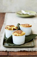 Cheese_spinach souffles