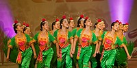 Chinese culture &amp; arts performing in Kuching, Sarawak, Malaysia