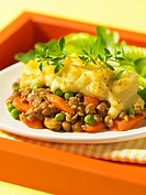 Shepherds pie on plate